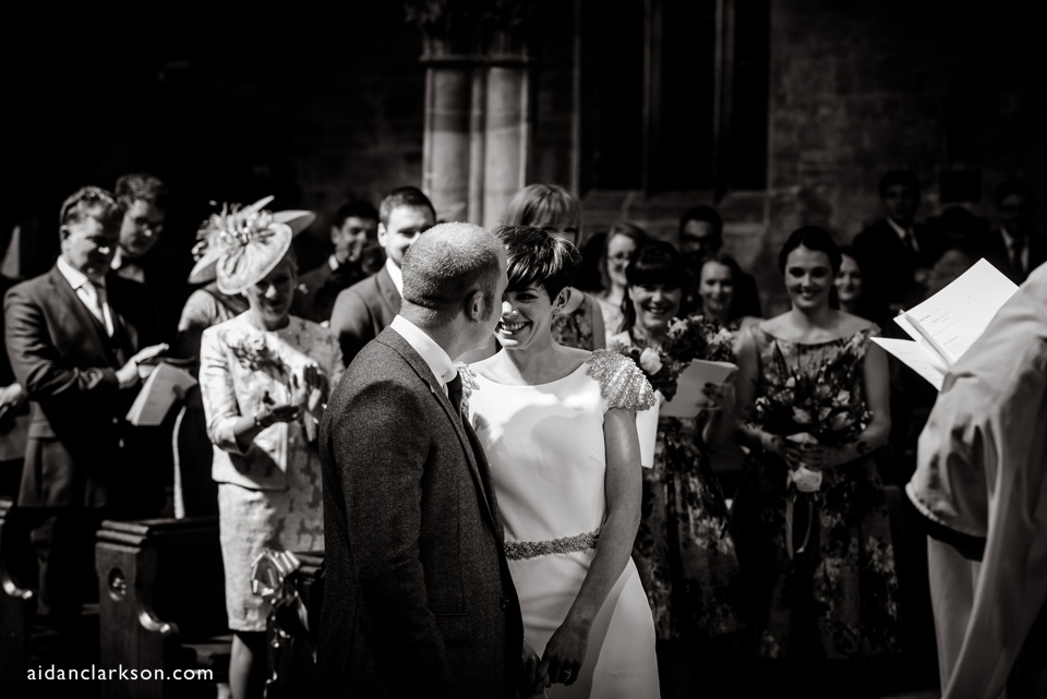 wedding photography at horncastle church