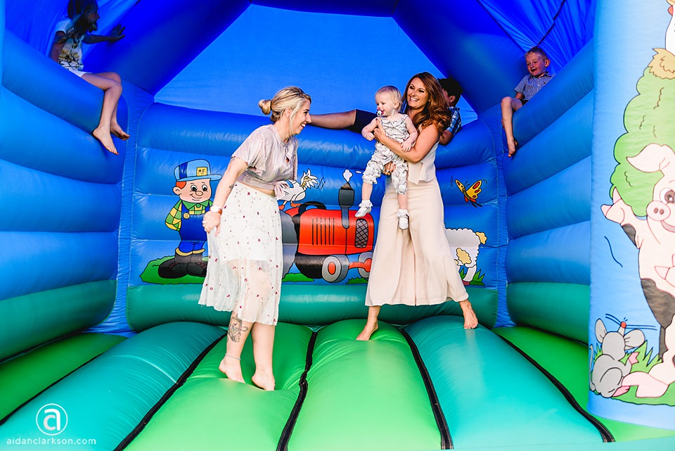 Bouncy castle hire for weddings