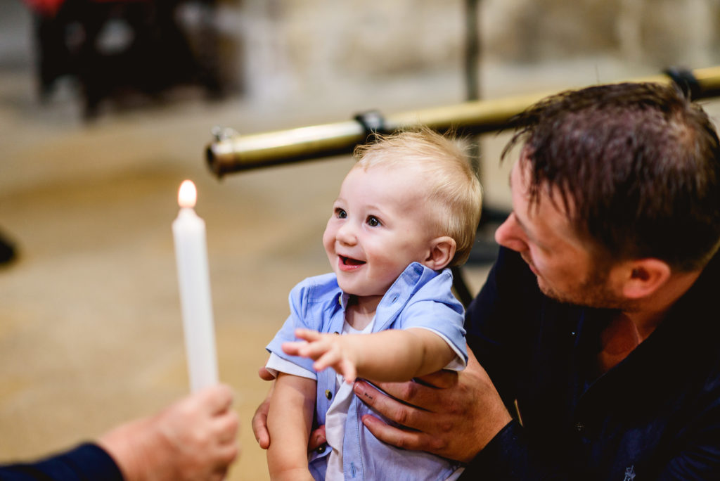 photographing a christening in lincolnshire